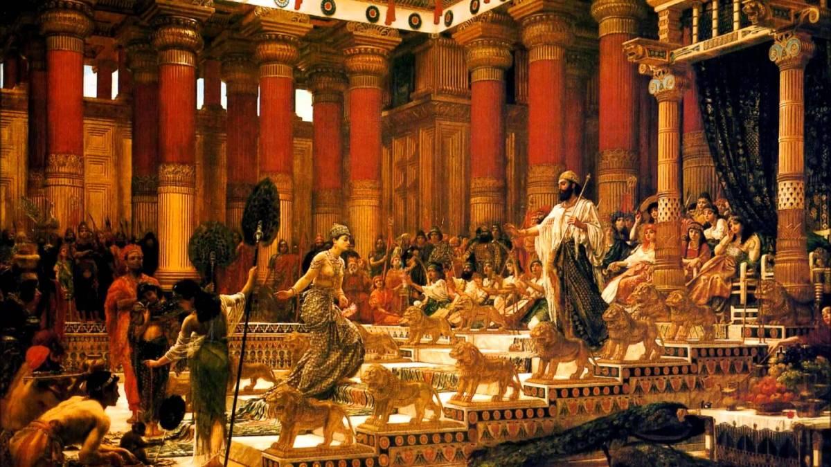 SOLOMON, HÜDDÜD ve KRALİÇE NİCAULA
