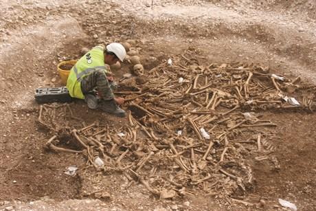 dorsetdeki toplu mezar