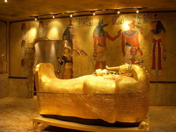 Tutankhamon'un mezar odası gorsel