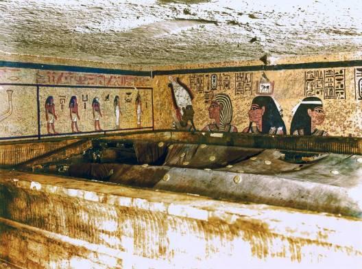 Tutankhamun'un mezar odası